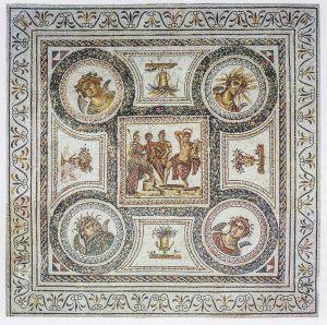 Lutte musicale entre Apollon et Marsyas
