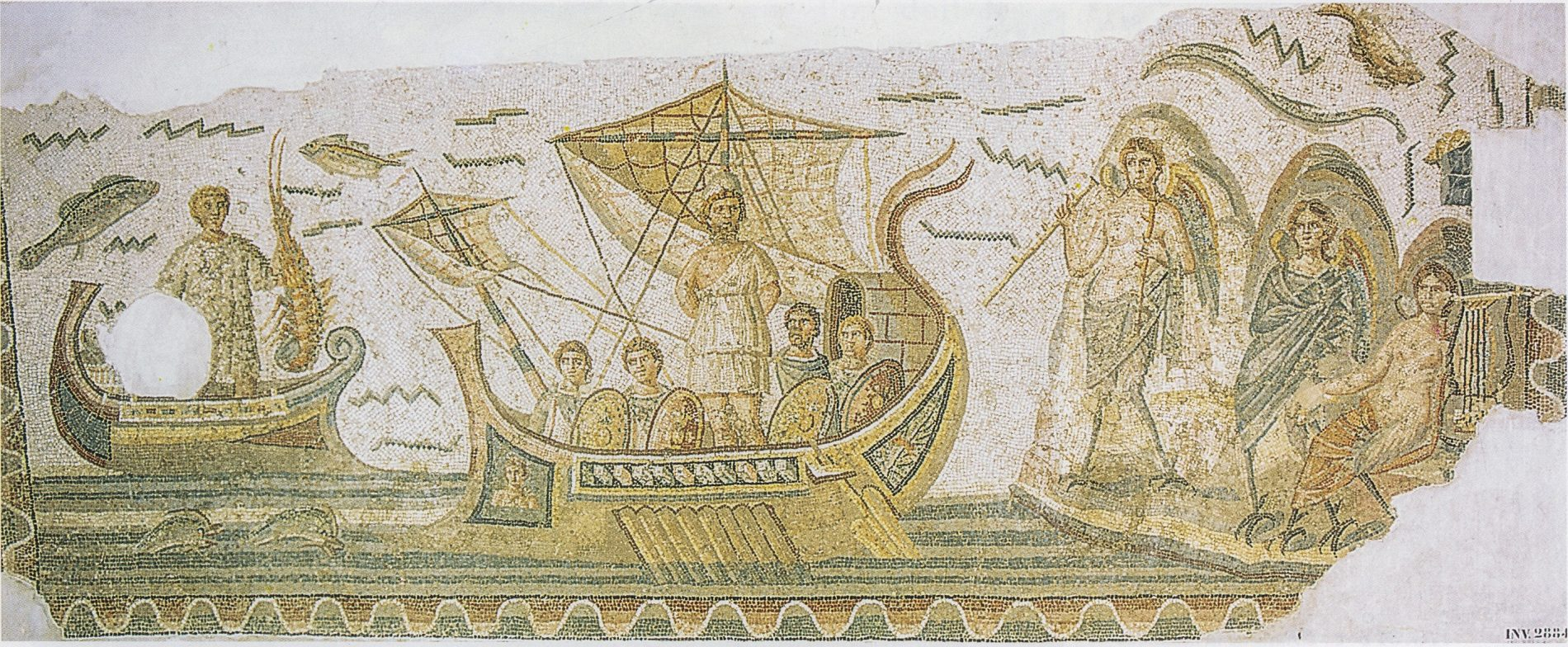 Mosaïque d'Ulysse