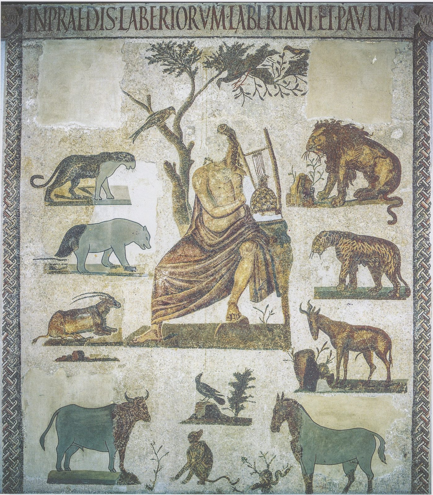 Mosaïque d'Orphée